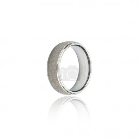 Fashion Male ring isolation white