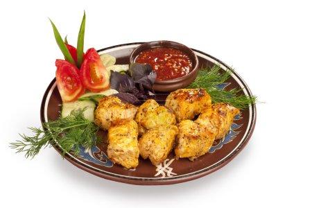 Chicken brisket pieces