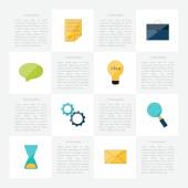 Collection of Flat Design Icons