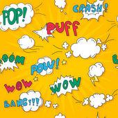 pop art style layout template