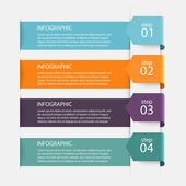 colorful infographics for business presentation