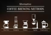 Alternative coffee brewing methods Ways to brew coffee