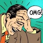OMG man reaction emotions misunderstanding surpris...