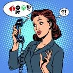 Dangerous talk phone communication viruses busines...