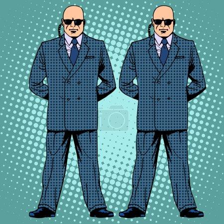 bodyguards cordon protection secret service agents