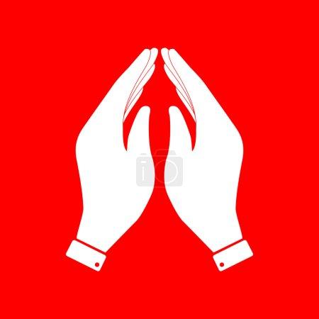 Hand icon illustration