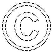 Copyright jel illusztráció
