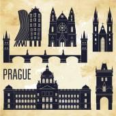 Prague landmarks and monuments