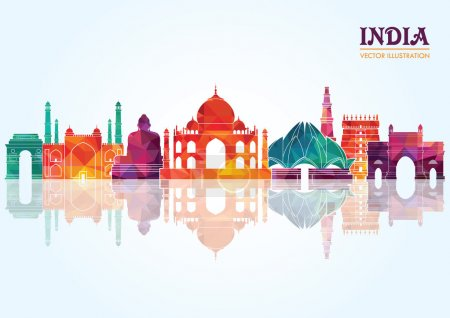 India skyline.