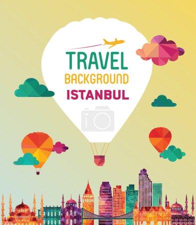 Illustration pour Istanbul. Illustration vectorielle - image libre de droit