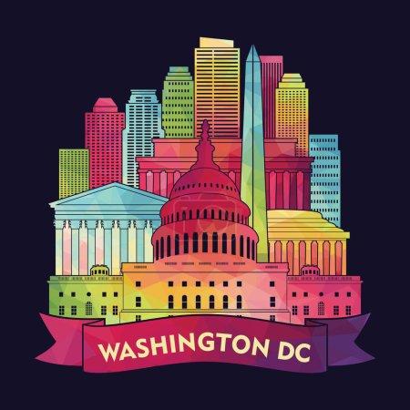 Washington Dc skyline.