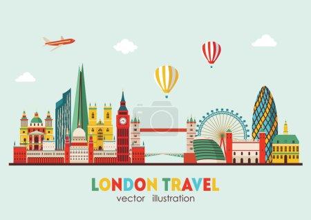 London detailed Skyline.