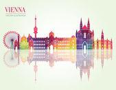 Vienna detailed  skyline