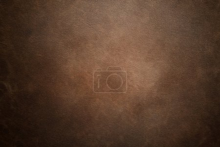 Foto de High resolution brown leather texture background. Leather detail structure, fabric, material. Luxury look. - Imagen libre de derechos