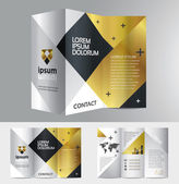 Abstract business brochure design