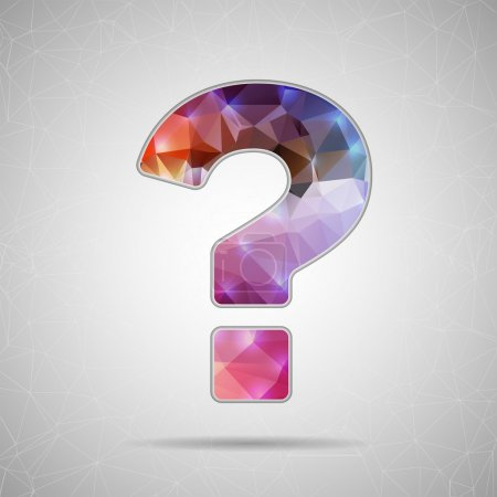 Icon of question mark for Web and Mobile Applications