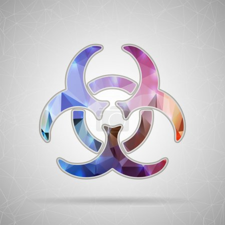 Icon of Biohazard for Web