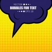 Abstract Creative concept vector comics pop art style blank layout template with clouds beams and isolated dots pattern on background For Web and Mobile Applications illustration template design