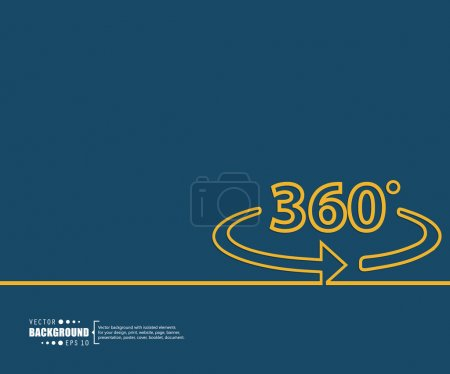 Illustration pour Résumé Concept créatif arrière-plan vectoriel pour applications Web et mobiles, conception de gabarits d'illustration, infographie d'entreprise, page, brochure, bannière, présentation, affiche, couverture, livret, document - image libre de droit