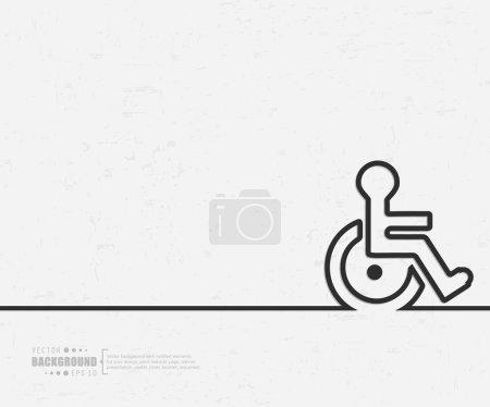 Illustration pour Fond vectoriel abstrait. Pour application web et mobile, conception de gabarits d'illustration, infographie commerciale créative graphique, brochure, bannière, présentation, affiche conceptuelle, couverture, livret, document, logo de ligne - image libre de droit