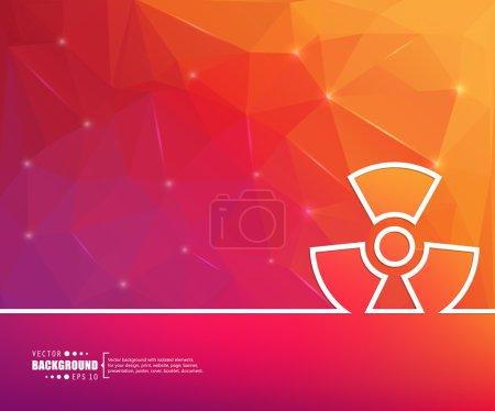 Streszczenie tło wektor koncepcja kreatywnych dla dokumentu sieci Web i aplikacji Mobile, ilustracja szablon projektu, biznes infographic, strony, broszura, baner, prezentacji, plakat, okładka, broszury,.