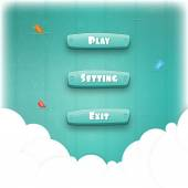 Abstract Creative concept vector Interface game design resource bar and resource icons for games Funny cartoon design ui game control panel including text and buttons such as exit play settings