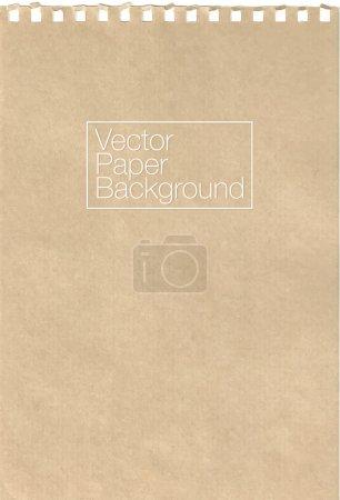 Notebook paper texture