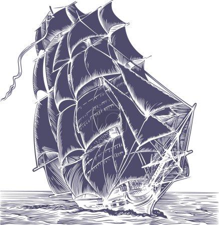 Old Sail ship