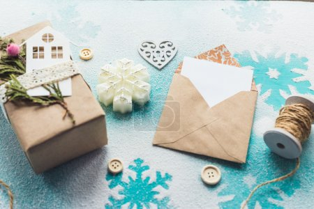 Christmas, New Year gift composition