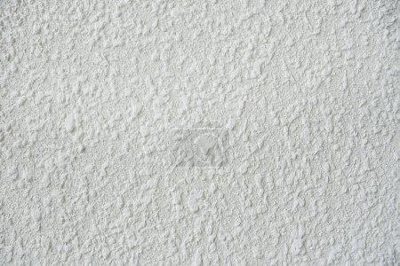 close up of a White stucco wall