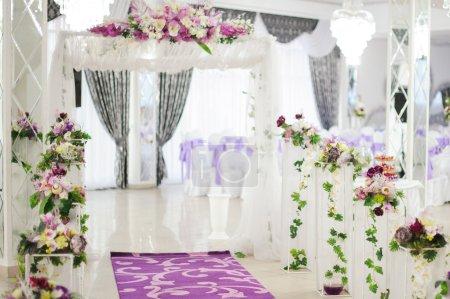 Banquet wedding evening reception