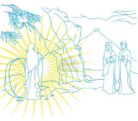 scene of Mary Magdalene