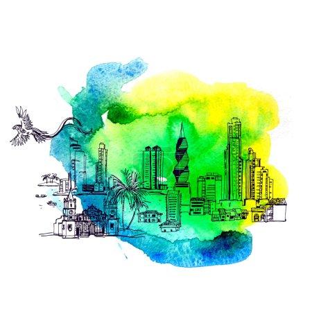Panama City skyline i