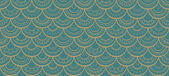 Seamless pattern with round blue elements