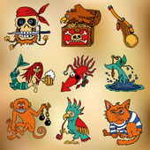 Pirate Legends icons