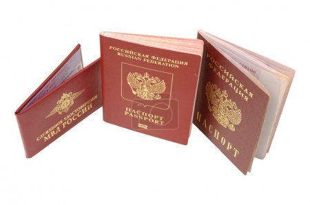 Russian identification papers