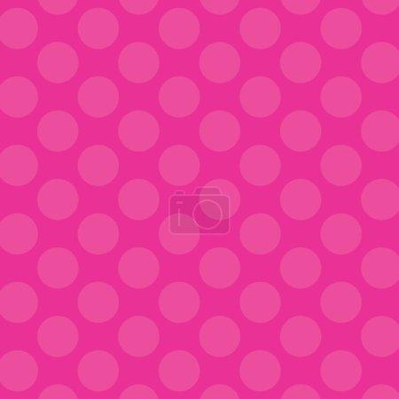 Retro Pink Polka Dots