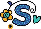 Whimsical Cartoon Alphabet Letter