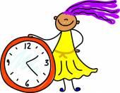 Kid and  Big Clock