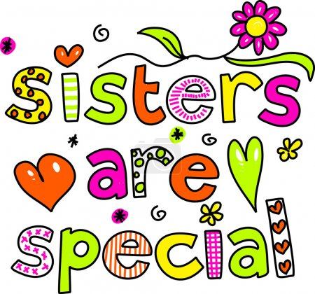 Sisters are special cartoon