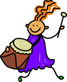 Kid Playing Drums