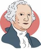 American president George Washington