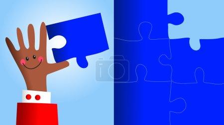 Photo pour Illustration de solution pratique - image libre de droit