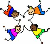 United kids - mixed race boys