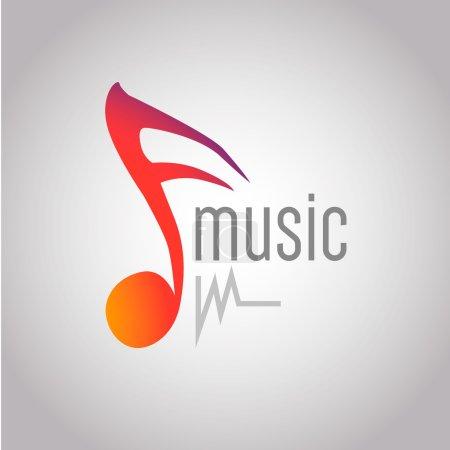 Modern vector music logo. fm, radio. EPS10...