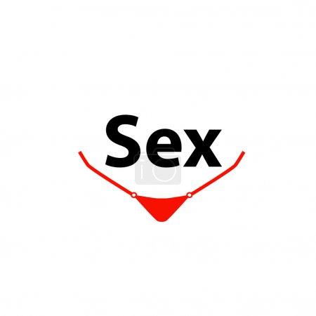 Sex logo xxx vector