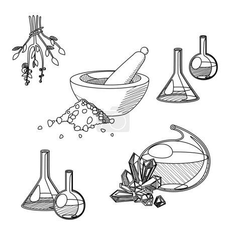 Chemists tools set