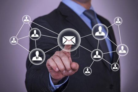 Email and contact symbols