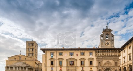 Large square in the center of Arezzo