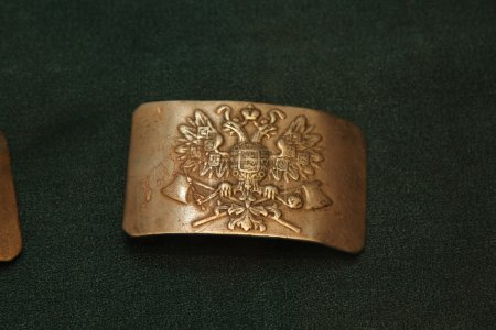 The belt buckle of the Russian Imperial Army